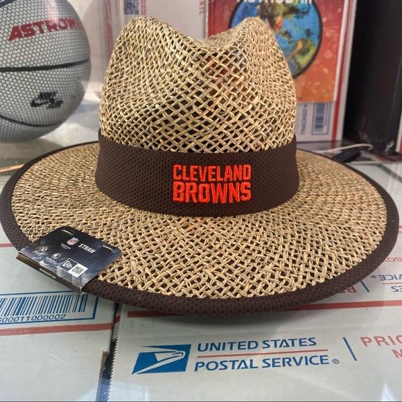 🆕 New Era Cleveland Browns Straw Hat